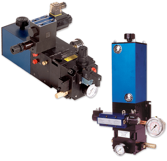 Air-driven Liquid Power Pumps for Fluid Power Applications - TASQ Series